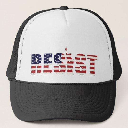 Widerstehen Sie Anti-Trumpf Widerstand-Freiheit Trucker Caps