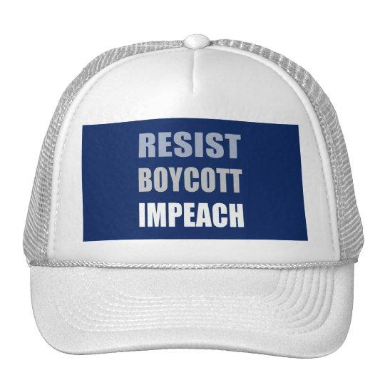 Widerstehen Sie Boykott anklagen Trumpf Retrocap