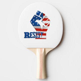 Widerstehen Sie Klingeln Pong Paddel, roter Tischtennis Schläger