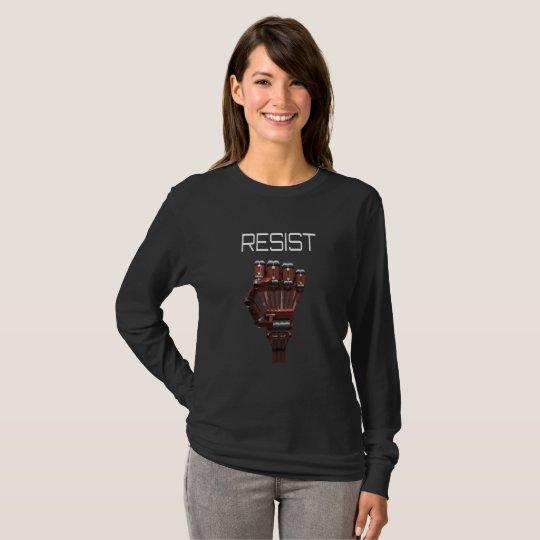 Widerstehen Sie März für Wissenschaft T-Shirt