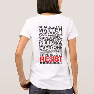 Widerstehen Sie T-Stück T-Shirt