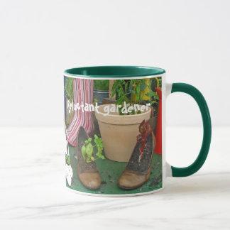 Widerstrebende Gärtner-Tasse Tasse