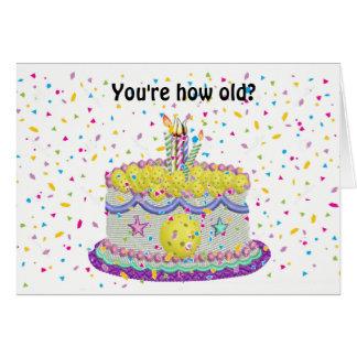 Wie alt in Pickleball Jahre? Grußkarte