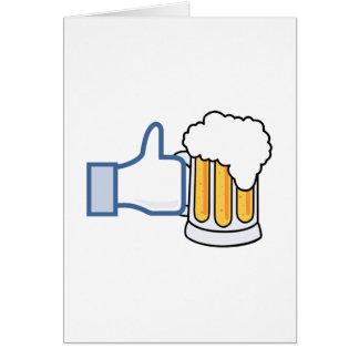 Wie Bier - Color.png Grußkarte