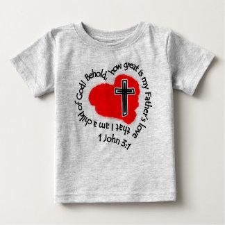 Wie die Liebe meines Vaters groß ist! Baby T-shirt