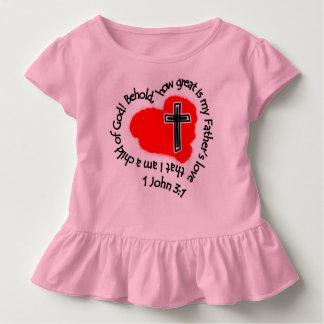 Wie die Liebe meines Vaters groß ist! Kleinkind T-shirt