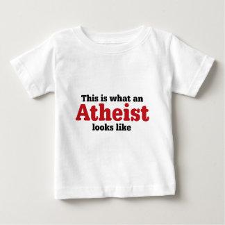 Wie dieses ist, ein welcher Atheist aussieht Baby T-shirt