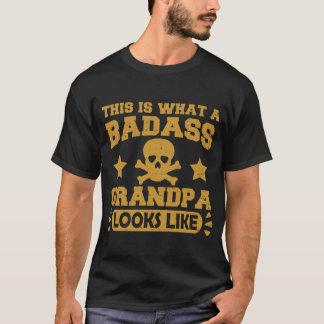 WIE DIESES IST, EIN WELCHER BADASS GROSSVATER T-Shirt