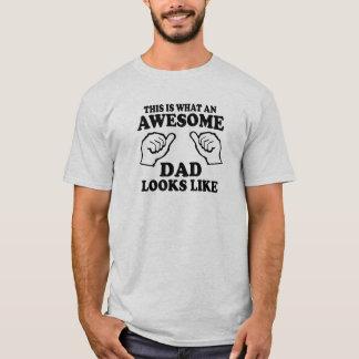 Wie dieses ist, ein welcher fantastischer Vati T-Shirt