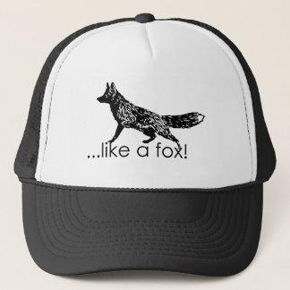 … wie ein Fuchs! Maschen-Hut Truckerkappe