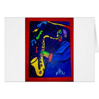Wie Jazz-Mann durch Piliero Karte