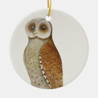 Wie jetzt Bucht-Eule? Keramik Ornament