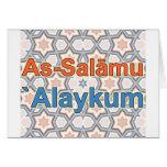 Wie-Salāmu ` Alaykum Grußkarte