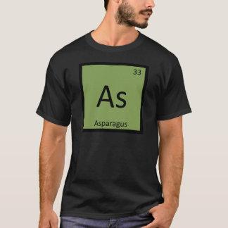 Wie - Spargel-Gemüsechemie-Periodensystem T-Shirt
