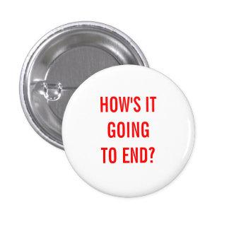 Wie wird es beenden? runder button 2,5 cm