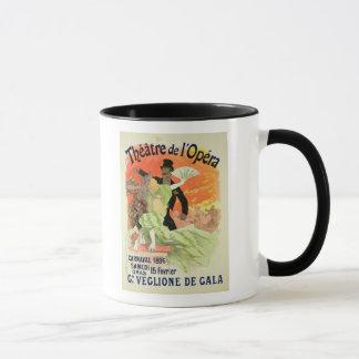 Wiedergabe einer Plakat-Werbung der Carn 1896 Tasse
