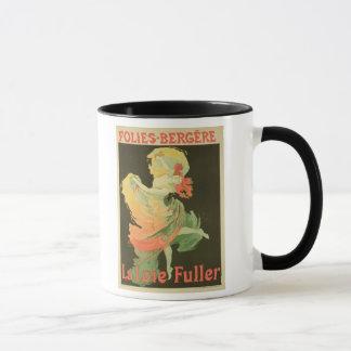 Wiedergabe einer Plakat-Werbung 'Loie Fuller Tasse