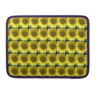 Wiederholen der Sonnenblumen Sleeve Für MacBook Pro