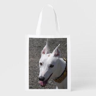 Wiederverwendbare Tasche des Windhunds (p384) Tragetasche