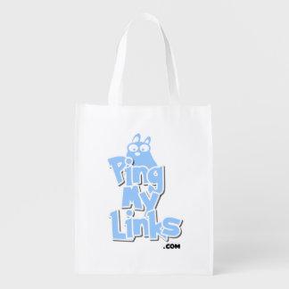 Wiederverwendbare Tasche PingMyLinks Cartoon-Art Wiederverwendbare Einkaufstasche