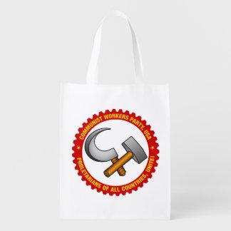 Wiederverwendbare Taschen-Tasche mit Party-Logo Wiederverwendbare Einkaufstasche