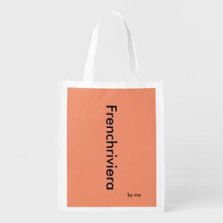 Wiederverwendbarer Sack Frenchriviera by mich Wiederverwendbare Einkaufstasche