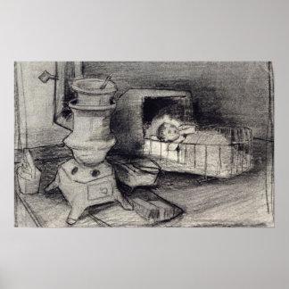 Wiege Vincent van Goghs | Poster