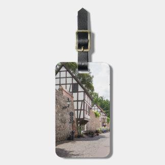Wiekhäuser in Neubrandenburg Gepäckanhänger