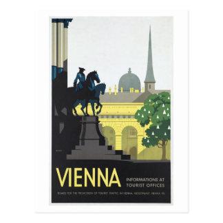 Wien Österreich - Vintage Reise Postkarte