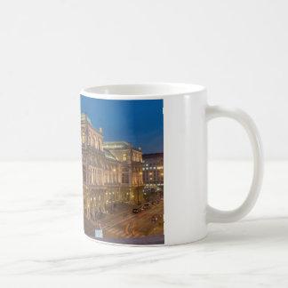 Wien-Staats-Oper, Österreich Kaffeetasse