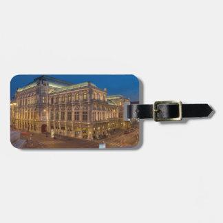 Wien-Staats-Oper, Österreich Kofferanhänger