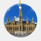 Wien-Weihnachtsverzierung Keramik Ornament