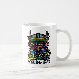 """""""Wikinger Kat"""" 11 Unze-Klassiker-Tasse Kaffeetasse"""