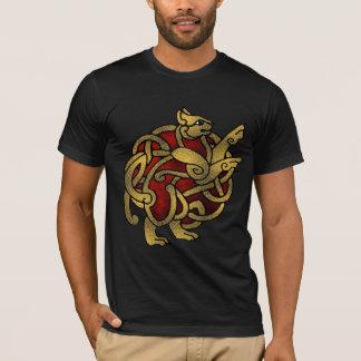Wikinger-Katzen-Shirt T-Shirt