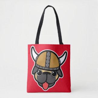 Wikinger-Mops Tasche