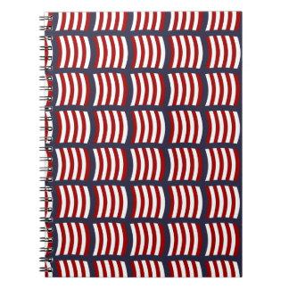 Wikinger-Segel-Muster-Notizbuch Notizblock