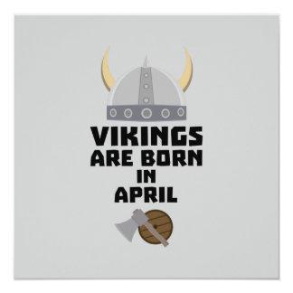 Wikinger sind geborene im April Zxs00 Karte