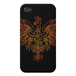 Wikinger-Wappen-Speck-Kasten iPhone 4/4S Hüllen