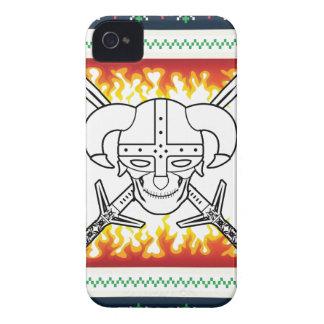 Wikinger-Weihnachten Case-Mate iPhone 4 Hülle