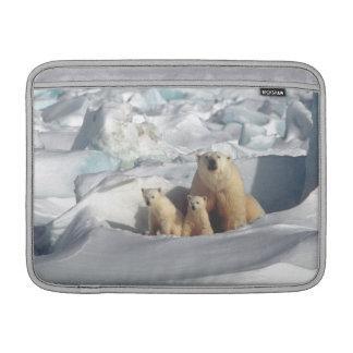 Wild lebende Tiere Eisbär-CUBs arktische Macbook MacBook Air Sleeve