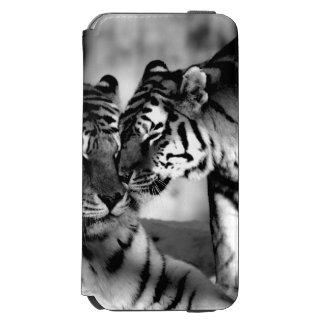 Wild lebende Tiere, fantastischer Tiger Incipio Watson™ iPhone 6 Geldbörsen Hülle