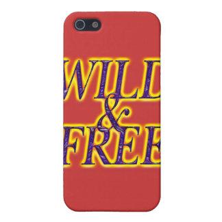 WILD UND FREI iPhone 5 COVER