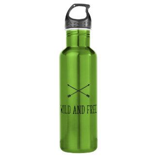 Wild und frei trinkflasche