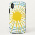Wild und geben Sie Sie sind mein Sonnenschein frei iPhone X Hülle