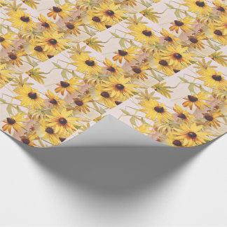 Wildblume BlumenConeflower Geschenkpapier