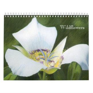 Wildblume-Zeichnungs-Kalender des Western-Co Wandkalender