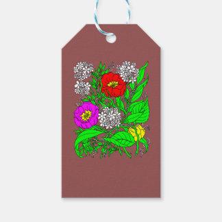 Wildblumen 2 geschenkanhänger