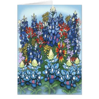 Wildblumen Karte