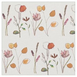 Wildblumen Stoff