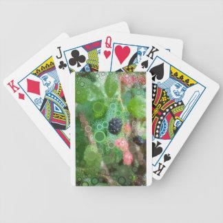 Wilde BlackBerry-Sommer-Produkte Bicycle Spielkarten
